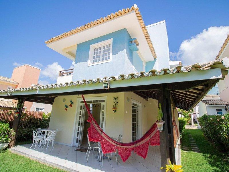 GB08 Aconchegante Casa 4 Suítes em Guarajuba, location de vacances à Jenipabu