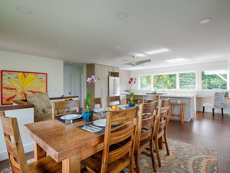 Hoaloha - Stroll to Beach, holiday rental in Hanalei