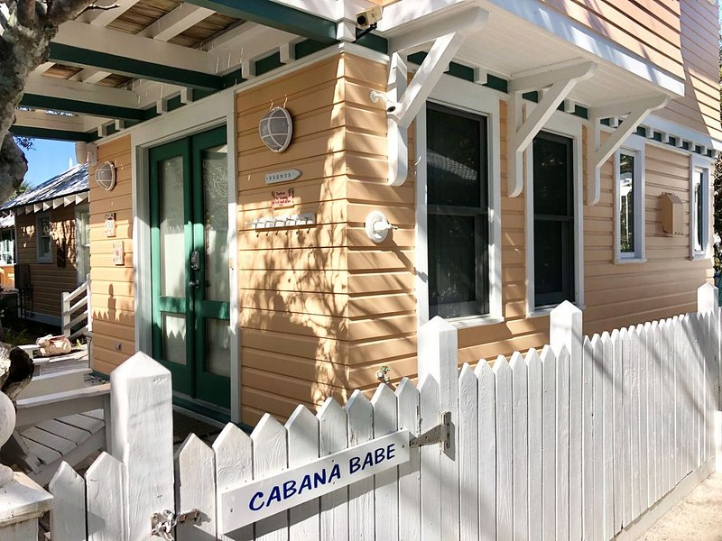 4 HOUSES TO BEACH IN SEASIDE! - Cabana Babe Guest Cottage, location de vacances à Grayton Beach