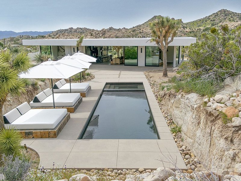 New Listing | Modern Private Home with Pool/Spa near Joshua Tree, location de vacances à Yucca Valley