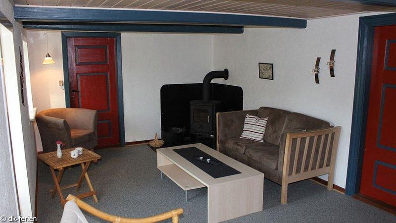 Bauernhaus auf Mandø mit 2 Schlafzimmern und Ofen, casa vacanza a Esbjerg
