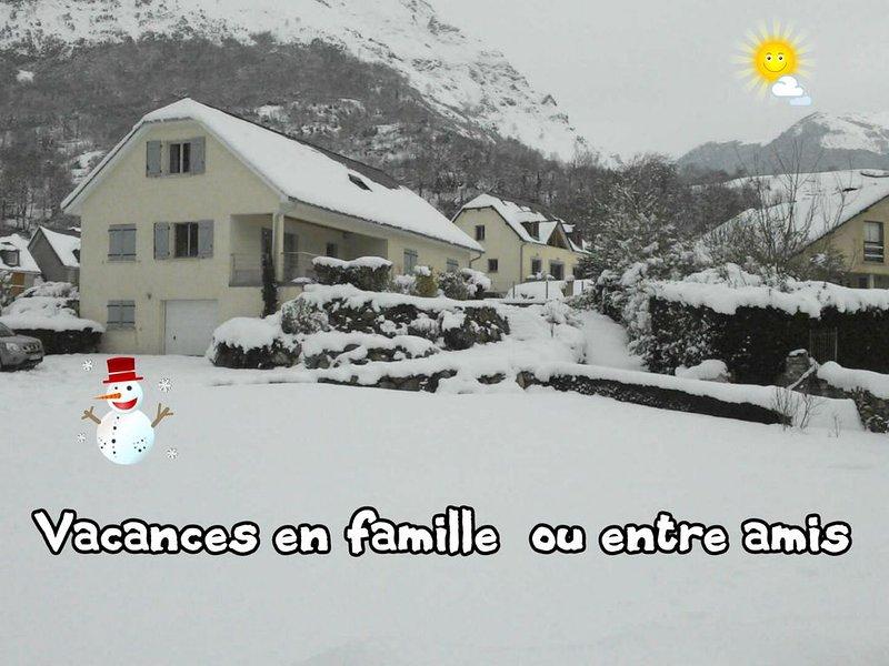Location vacances-maison a Laruns/Beost - 64- cap de 10 pers -ski rando cure -, location de vacances à Bearn-Basque Country