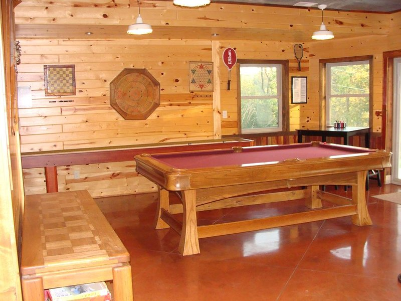 The Lodge - Custom Cabin Nestled in the Woods close to Decorah, holiday rental in New Albin