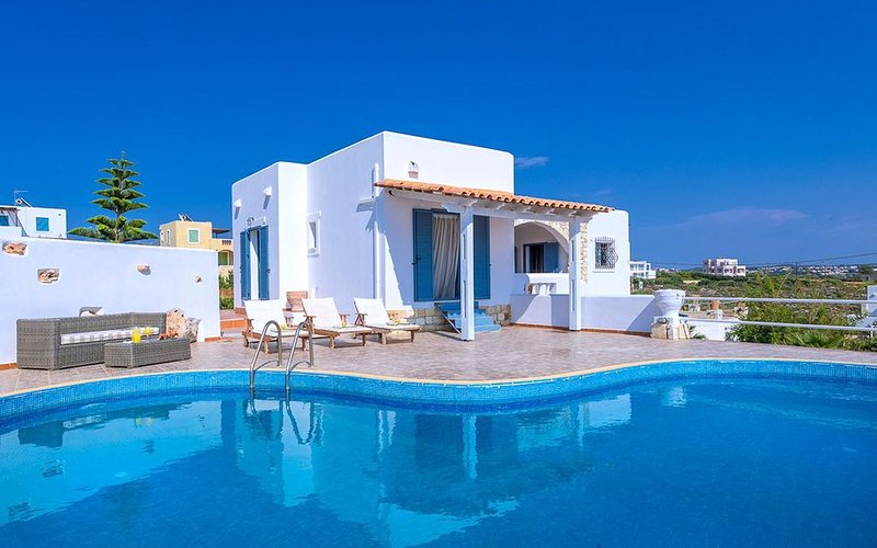 Sea & Sun Villas, Villa Irida, Private Pool, Amazing Sea Views!!!, holiday rental in Tersanas