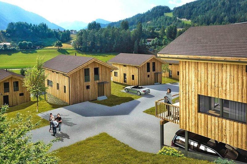 Chalets Bergeralm, Steinach am Brenner, Ferienwohnung in Trins
