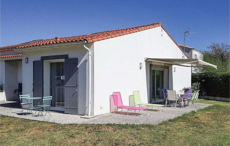 2 Zimmer Unterkunft in St. Palais sur Mer, vakantiewoning in Saint-Palais-sur-Mer