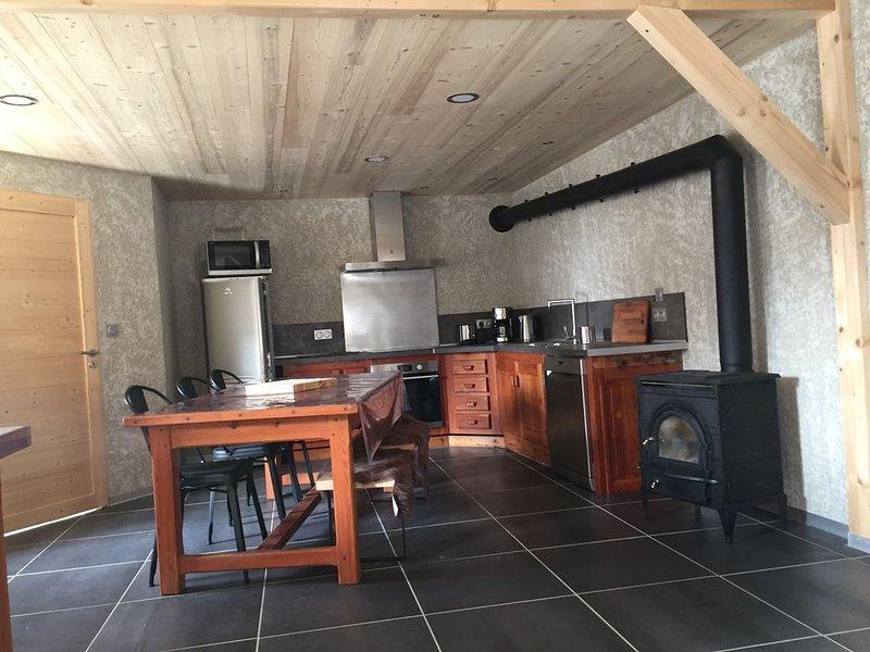 Chez Papy - Grand Appart entièrement rénové Ventelon La Grave/La Meije, casa vacanza a La Grave