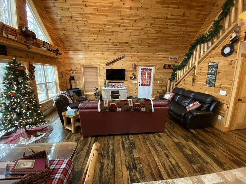 Michigan's best Riverfront Vacation home, holiday rental in Fremont