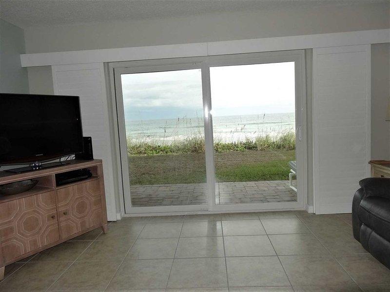 (111) Oceanfront Condo Ground Floor 1 Level, holiday rental in Indialantic