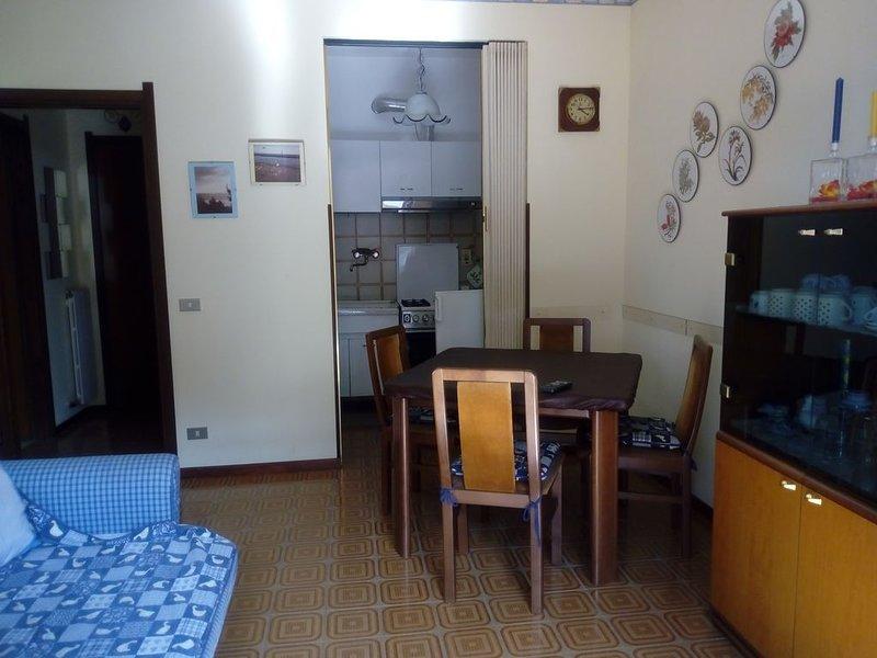 Appartamento confortevole ' dal mare a piedi,  1° piano con  ampio balcone, Ferienwohnung in San Bartolomeo al Mare