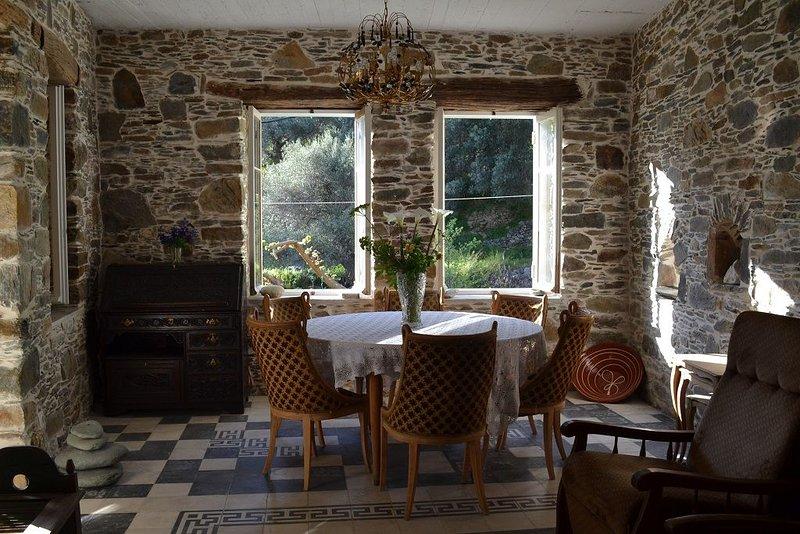 Stone house, 20min to Elafonisi – semesterbostad i Keramoti