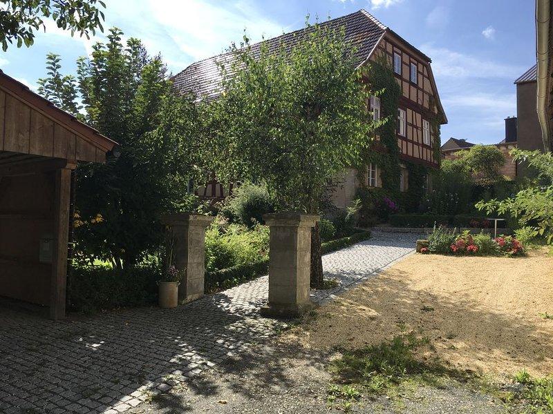 Urlaub in einem 500 Jahre alten Bauernhaus, vacation rental in Burgpreppach