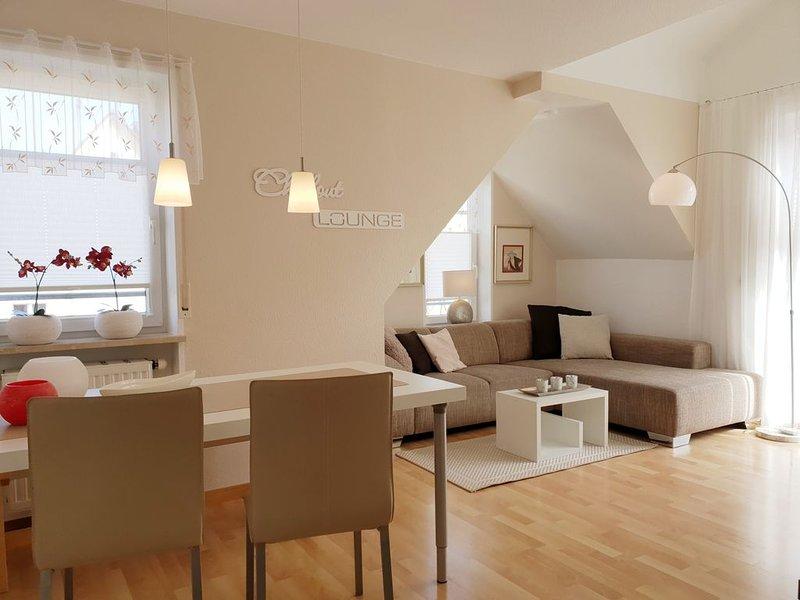 Ferienwohnung Laura - Maisonette Wohnung für 1-3 Personen, location de vacances à Friedrichshafen