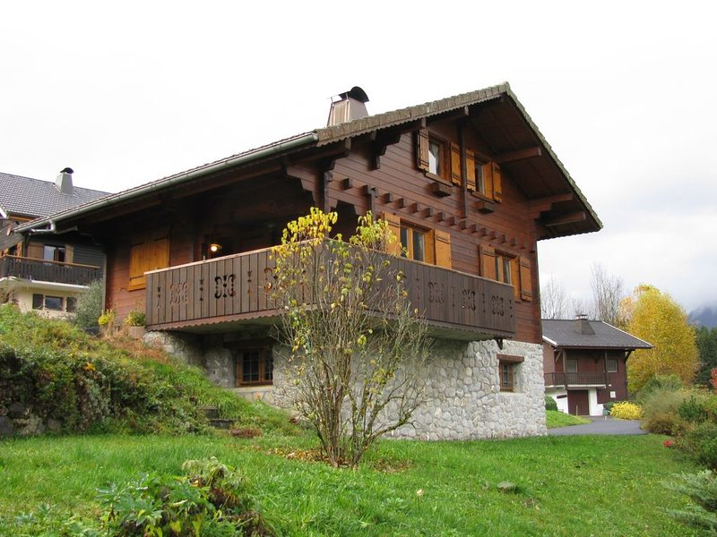 Chalet 7 personnes morillon grand massif grand massif, vacation rental in La Riviere-Enverse