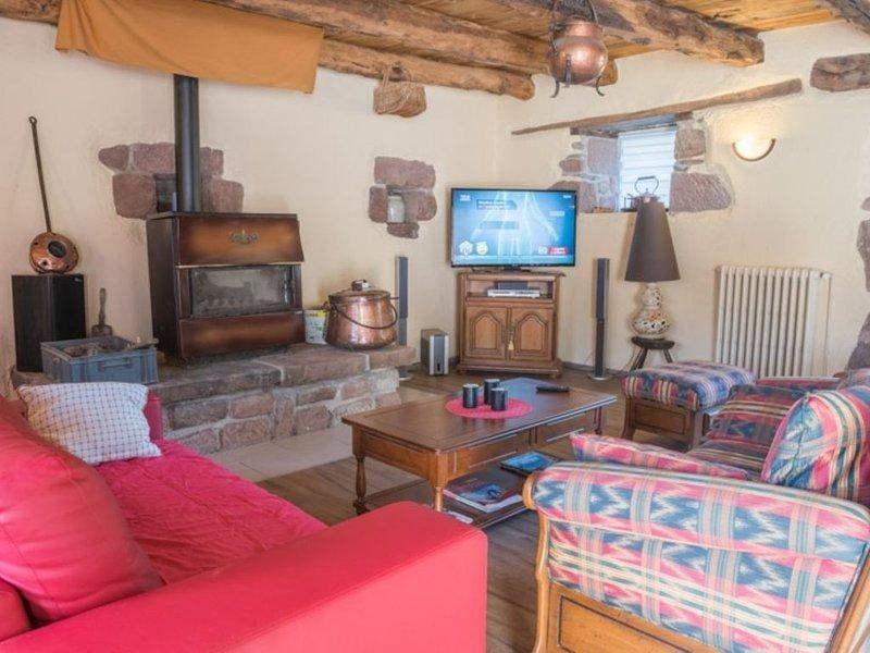 Le Mas de la Feuille, maison 6 personnes, holiday rental in La Canourgue