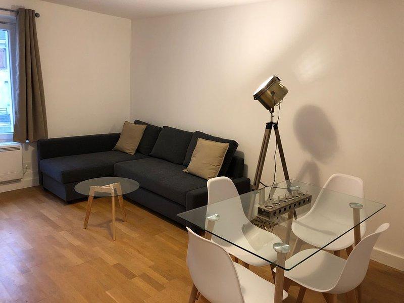 Appartement 2/3 pièces (55m²) au cœur du Vexin, vacation rental in Magny-en-Vexin