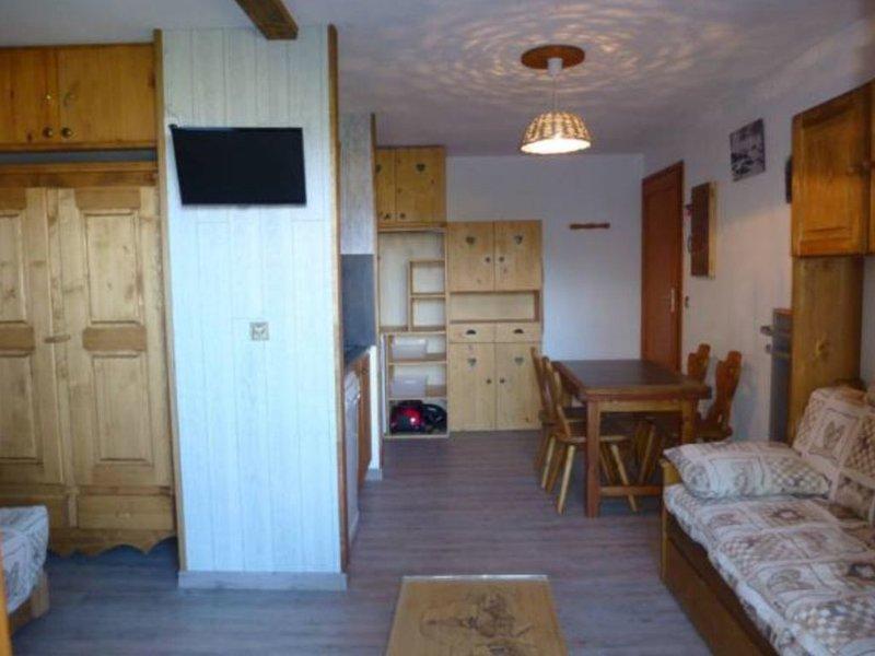 La Plagne-Montalbert, studio 4 pers, centre station, départ ski aux pieds, alquiler vacacional en Montalbert