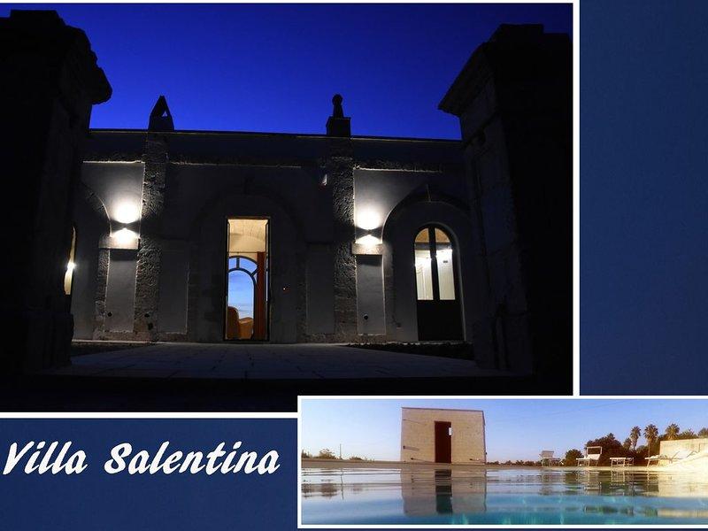 Villa Salentina (Piscine), location de vacances à Collepasso