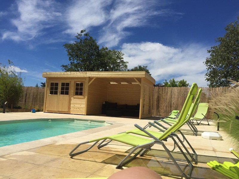 Maison de vacances, 4 chambres, piscine, provence, location de vacances à Valensole