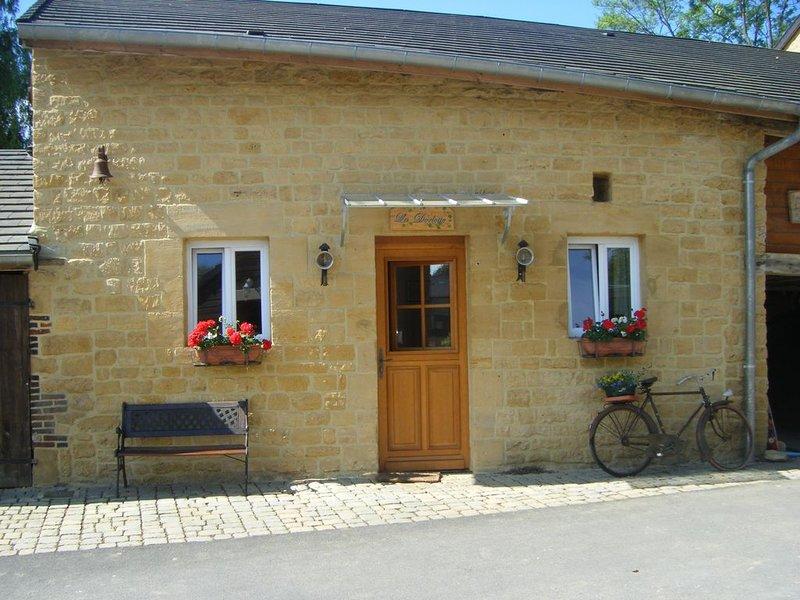 La Dorlotte, idéale pour 2, holiday rental in Montherme
