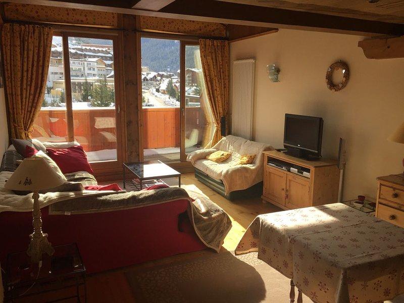 appartement  de charme 8 couchages vue magnifique, holiday rental in Saint-Bon-Tarentaise
