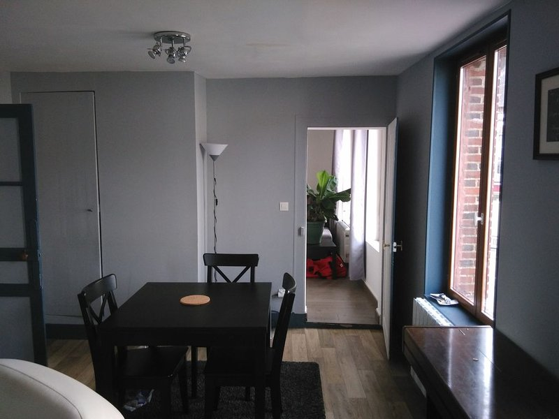 Appartement rénové lumineux, holiday rental in Saint-Maurice-les-Charencey