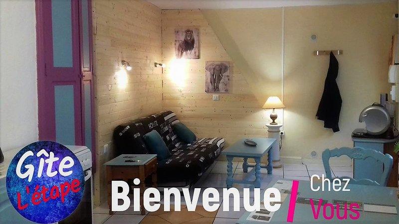Gîte L'étape St Ambroix, aluguéis de temporada em Saint-Julien-de-Cassagnas