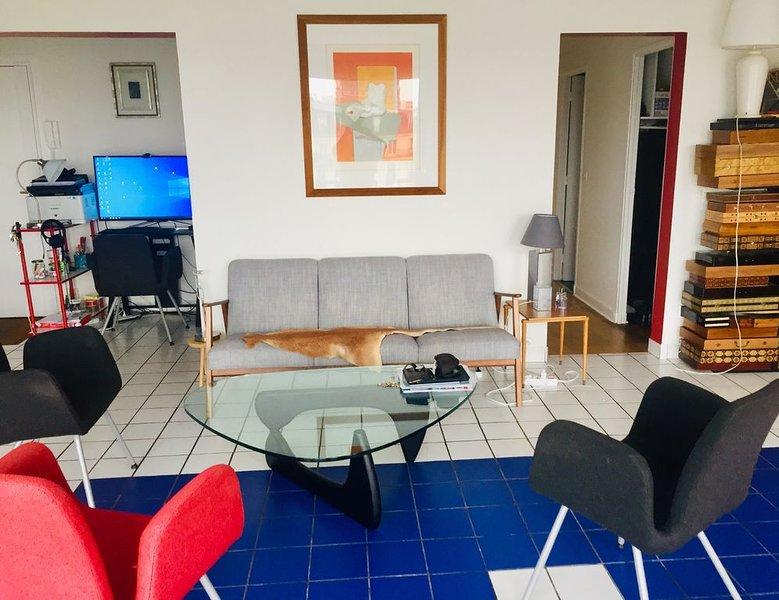 Appartement dans le ciel, location de vacances à Saint-Denis