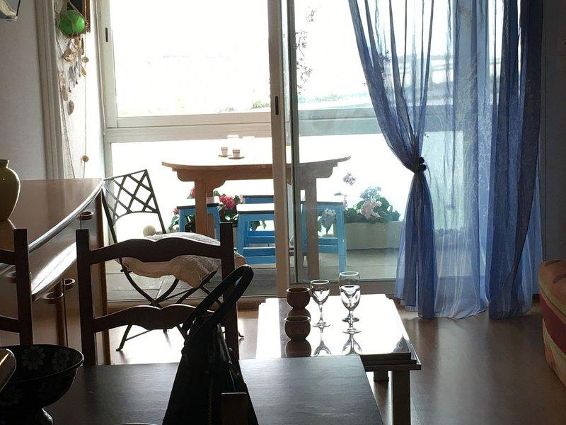 Appartement bord de mer - Les Marines Audierne, alquiler de vacaciones en Audierne