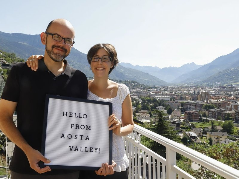 Beautiful panoramic holiday home, favorable position and caring warm hospitality, holiday rental in Aosta