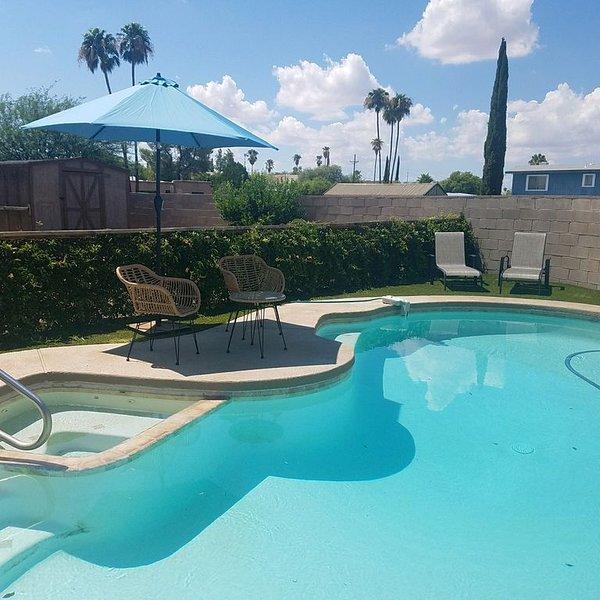 Refréscate en la gran piscina