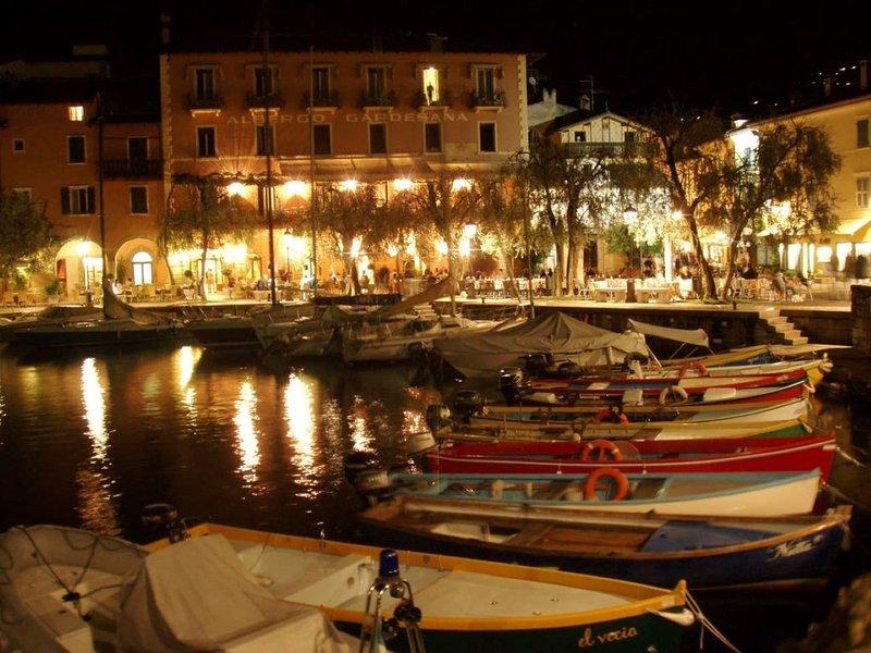 CENTRAL ELEGANT APARTMENT WITH PRIVATE PARKING, vacation rental in Torri del Benaco