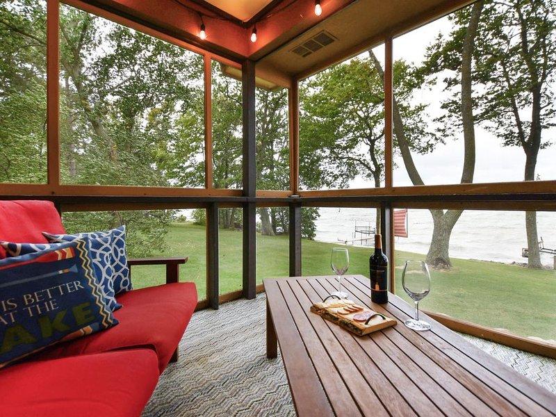 Mille Lacs Lakeside Getaway, holiday rental in Vineland