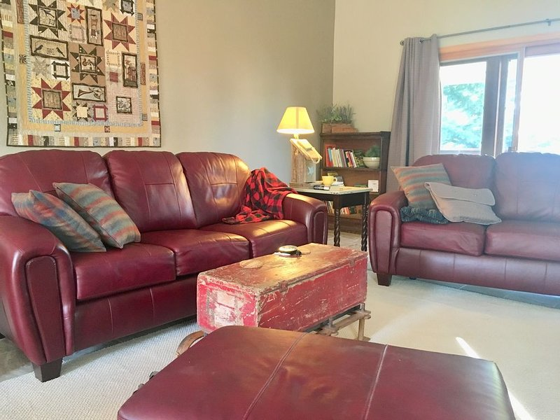 This spacious single home combines modern amenities with a cozy mountain feel, holiday rental in Laramie