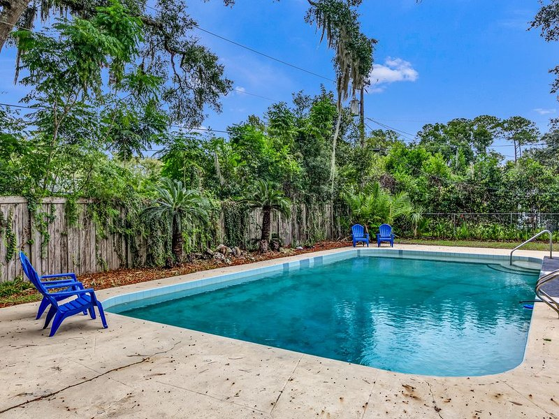 Spacious 2 story pool home! Perfect for entertaining and pets welcome, holiday rental in Gainesville