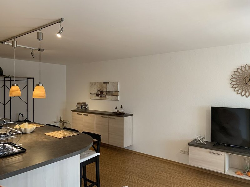 Condo 'Black Forest', 1 bedroom, 1 bathroom with a view of the Black Forest, vakantiewoning in Durbach