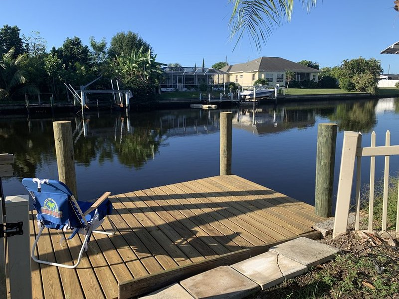 Waterfront Living in Port Charlotte FL, holiday rental in Port Charlotte