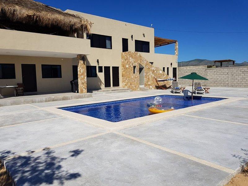 Heated pool and fantastic views!, alquiler vacacional en El Triunfo