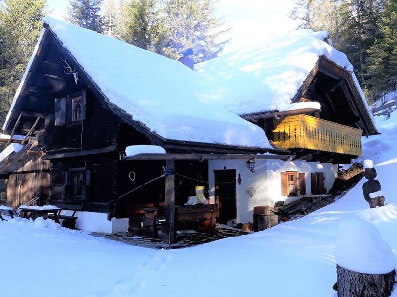 Vintage Chalet in Sankt Oswald with Garden, casa vacanza a Kleinkirchheim