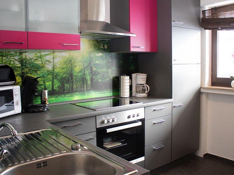 Komforable Ferienwohnung (100 qm) mit zwei Schlafzimmern in ruhiger Lage, holiday rental in Elkeringhausen