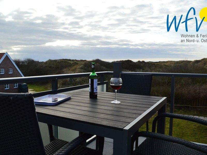 Moderne Ferienwohnung mit Balkon!, location de vacances à Norderney