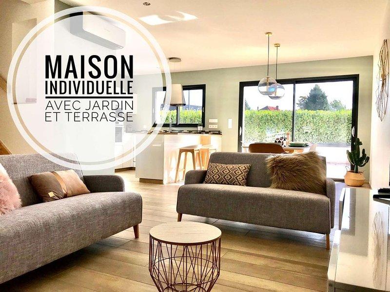 Aux Peupliers de Pradian - Villa Alba - Meublé de tourisme 4 étoiles, location de vacances à Lepin-le-Lac