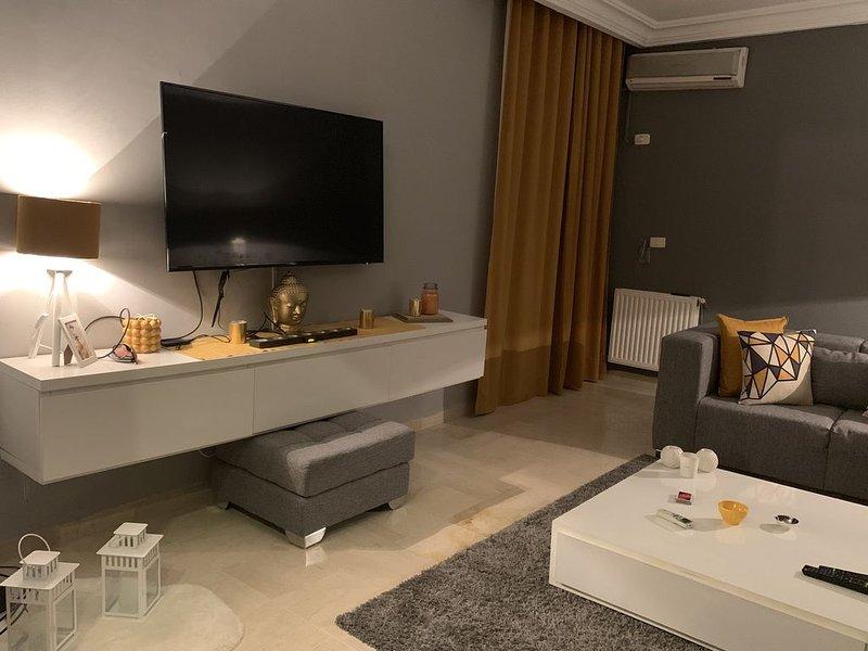 Cosy apartment jardin Del Manzah 2, holiday rental in La Marsa