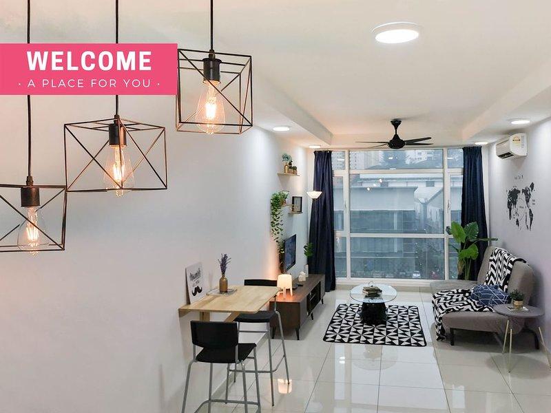 KL 3 Bedroom Cozy Suite Near Bukit Jalil & Kuchai Lama, holiday rental in Cheras