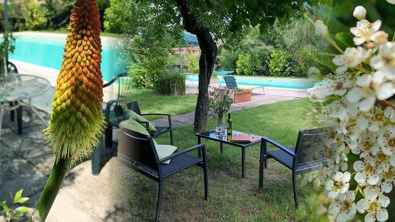 Prachtig gelegen vrijstaande familie villa  Umbrie/Toscane Castiglione del Lago, alquiler vacacional en Cozzano