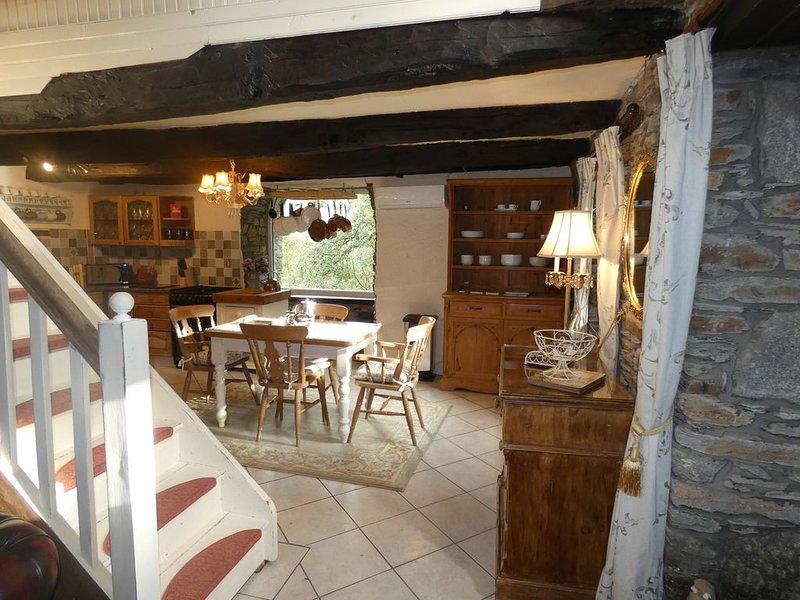 Rural Brittany Holiday Gites, alquiler de vacaciones en Merleac