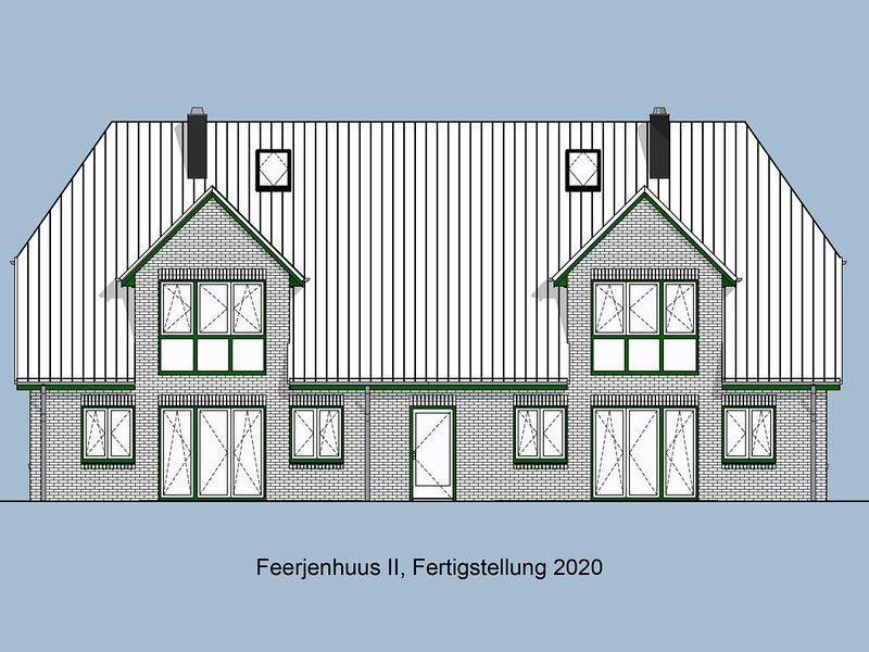 Vogelzug, Ferienwohnung in 'De Feerjenhusen' am Haubarg von Vollerwiek, location de vacances à Vollerwiek
