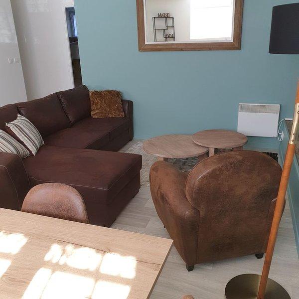 appartement 8 pers en rez de chaussée, location de vacances à Maupertus-sur-Mer