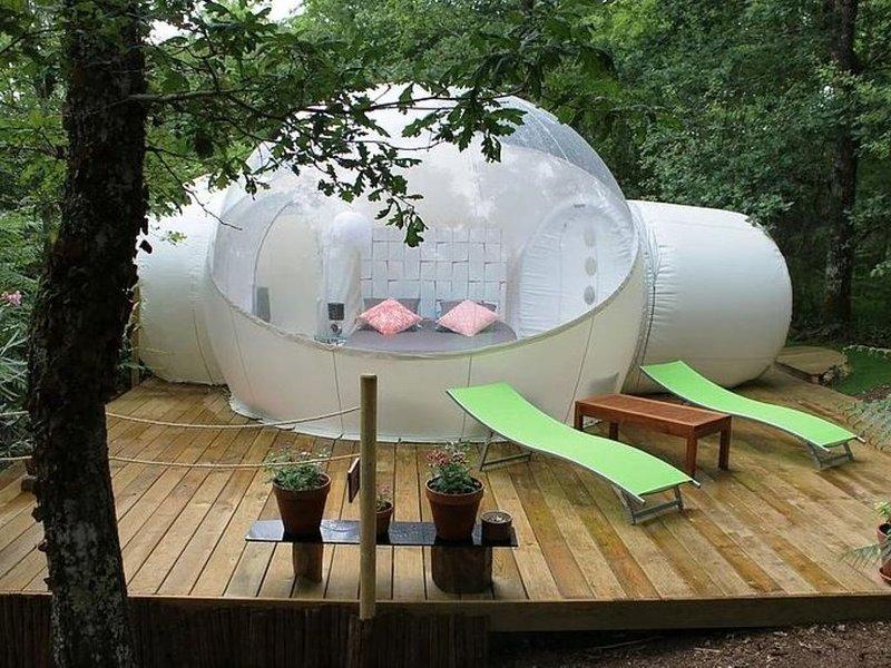 La bulle Pop pour une nuit insolite en Charente-Maritime, holiday rental in Reignac