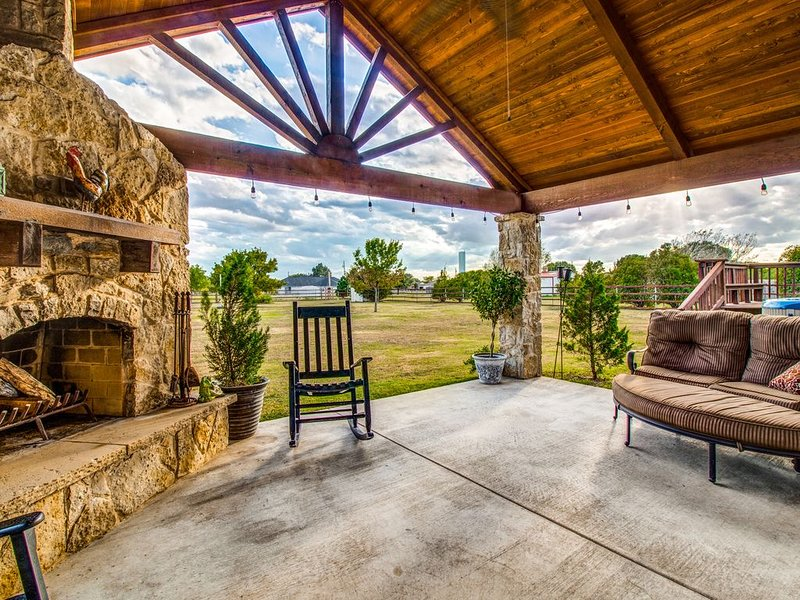 Meadow Retreat- Country feel with city conveniences, vacation rental in Melissa